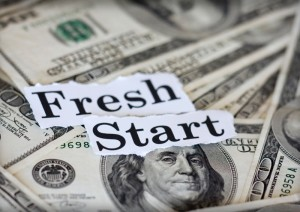 Bankruptcy offers the option of a fresh start
